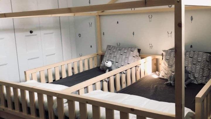 Base de lit jumeau
