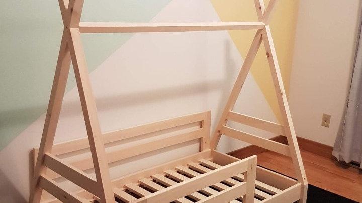 Base de lit tipi format bassinnette/transition
