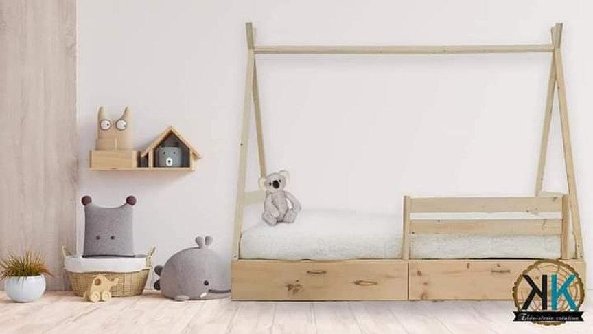 Base de lit tipi simple