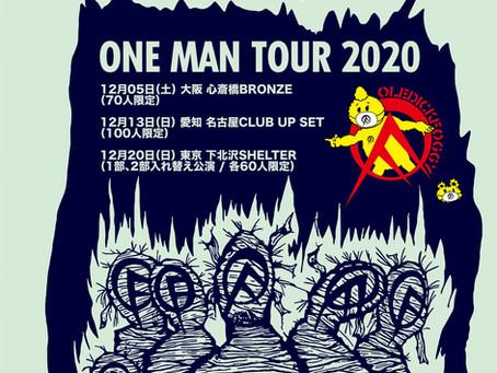 OLEDICKFOGGY / ONE MAN TOUR 2020