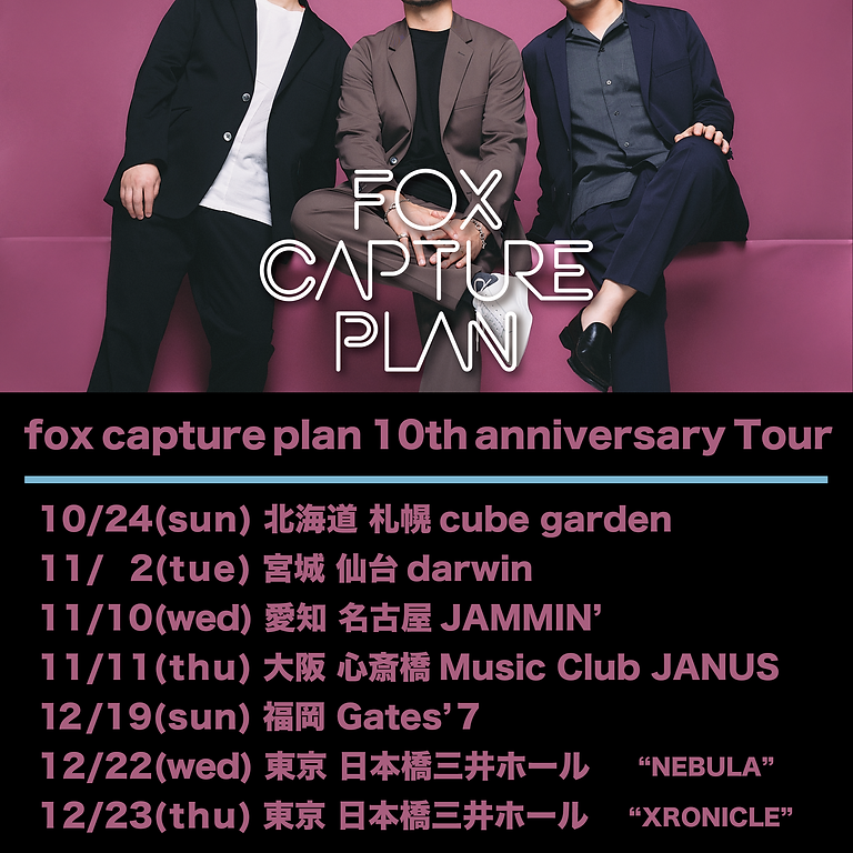 fox capture plan  10th Anniversary Tour