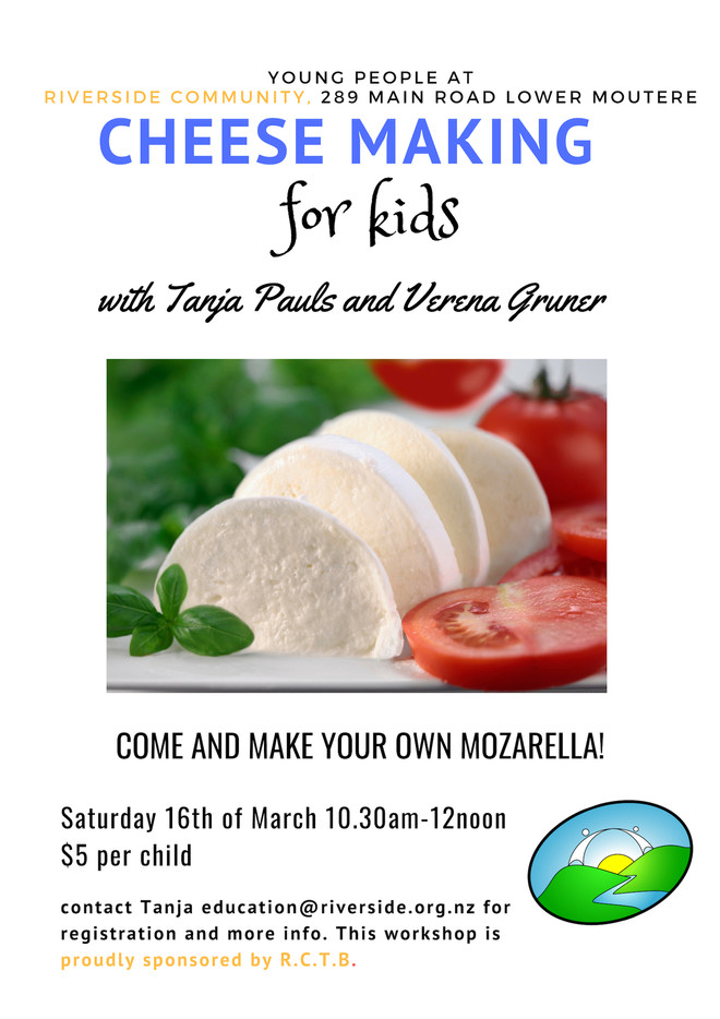 Cheese Making 4 Kids - Mozzarella
