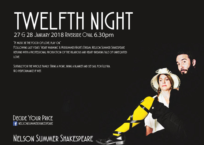 'Twelfth Night' Nelson Summer Shakespeare