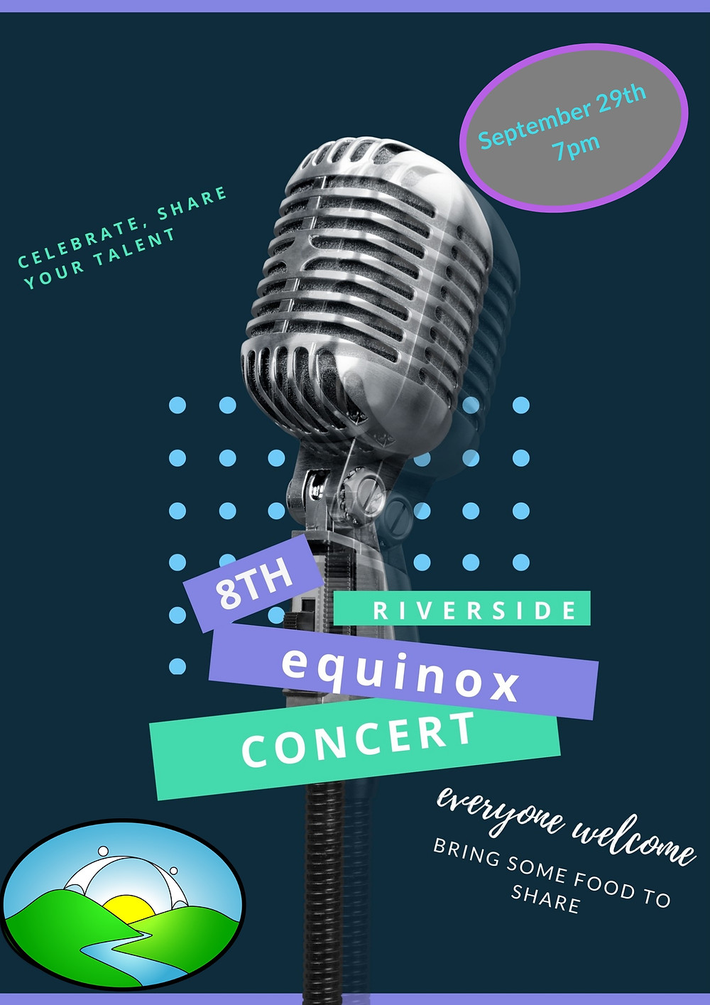 Equinox Concert at Riverside Poster