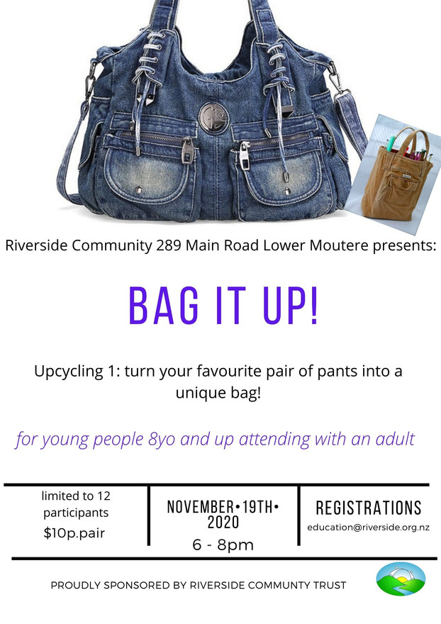 Bag It Up! Upcycling Workshop (8 years+)