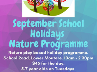 Holiday Nature Programme