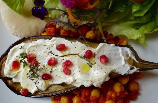 'Vegetarian Feast' at the Riverside Café