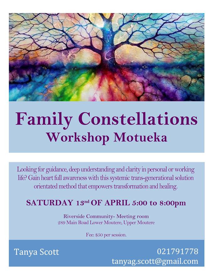 Family Constellations in April Poster
