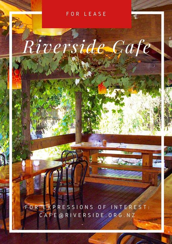 For LEASE: Riverside Cafe