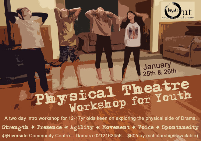 Youth Physical Theatre Weekend (12 years+)