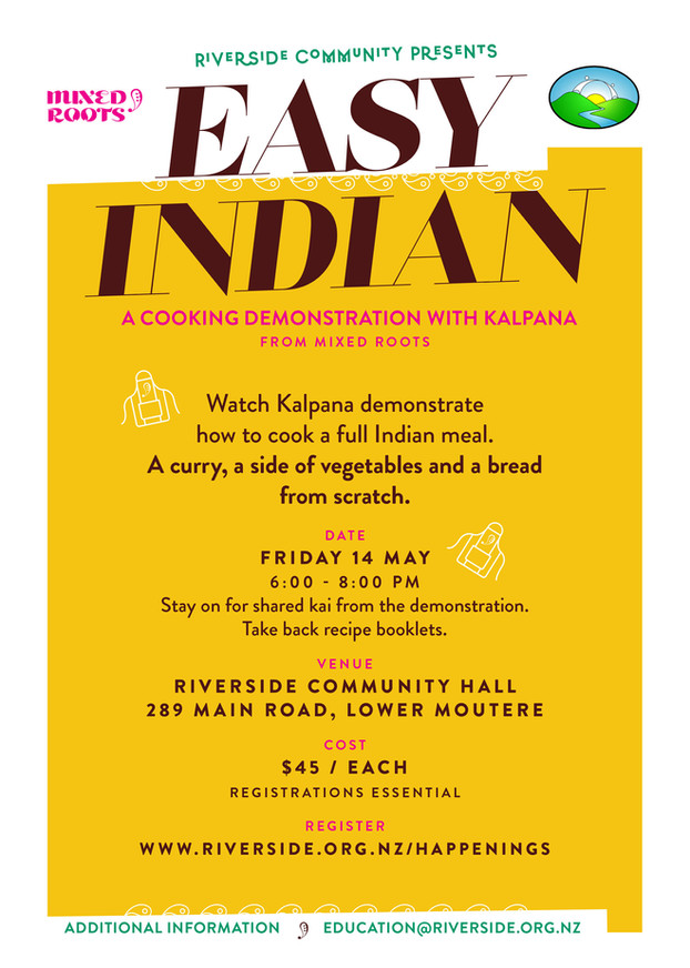 Indian Cooking Workshop