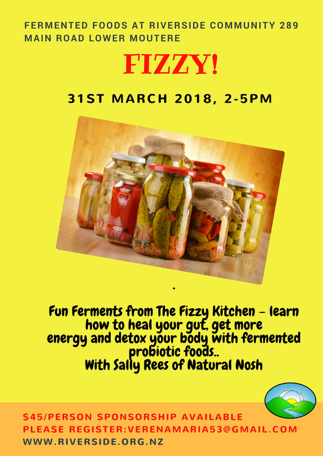 'Fizzy!' Food Fermentation Workshop