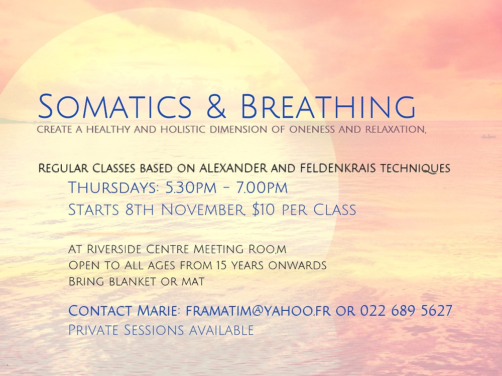 Somatics & Breathing Classes at Riverside