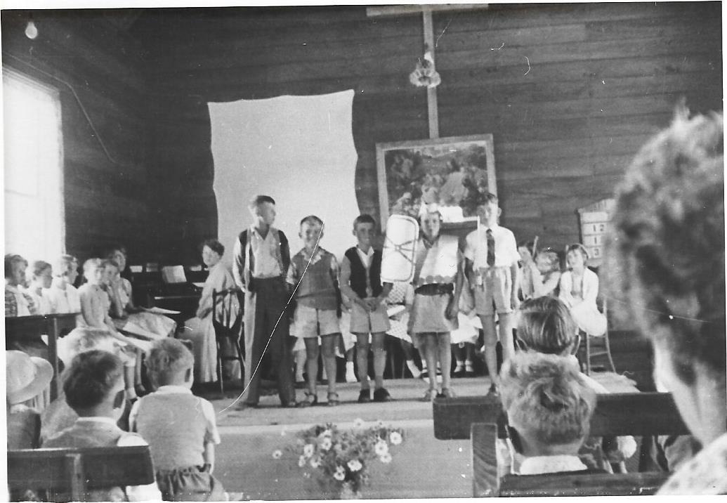 Sunday School Anniversary, Jubilee Hall, 1956