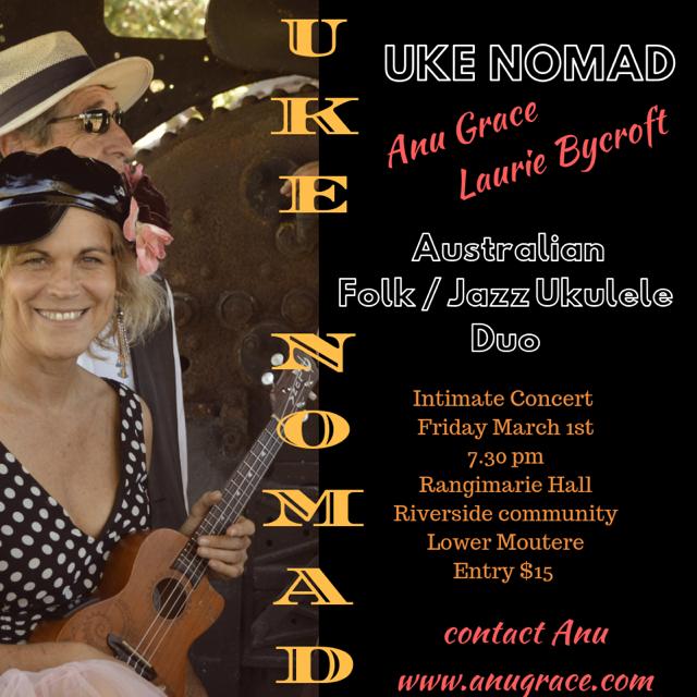 Uke Nomad Concert
