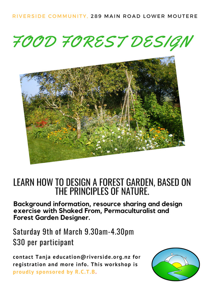 Food Forest Design - Introduction & Design Exercise