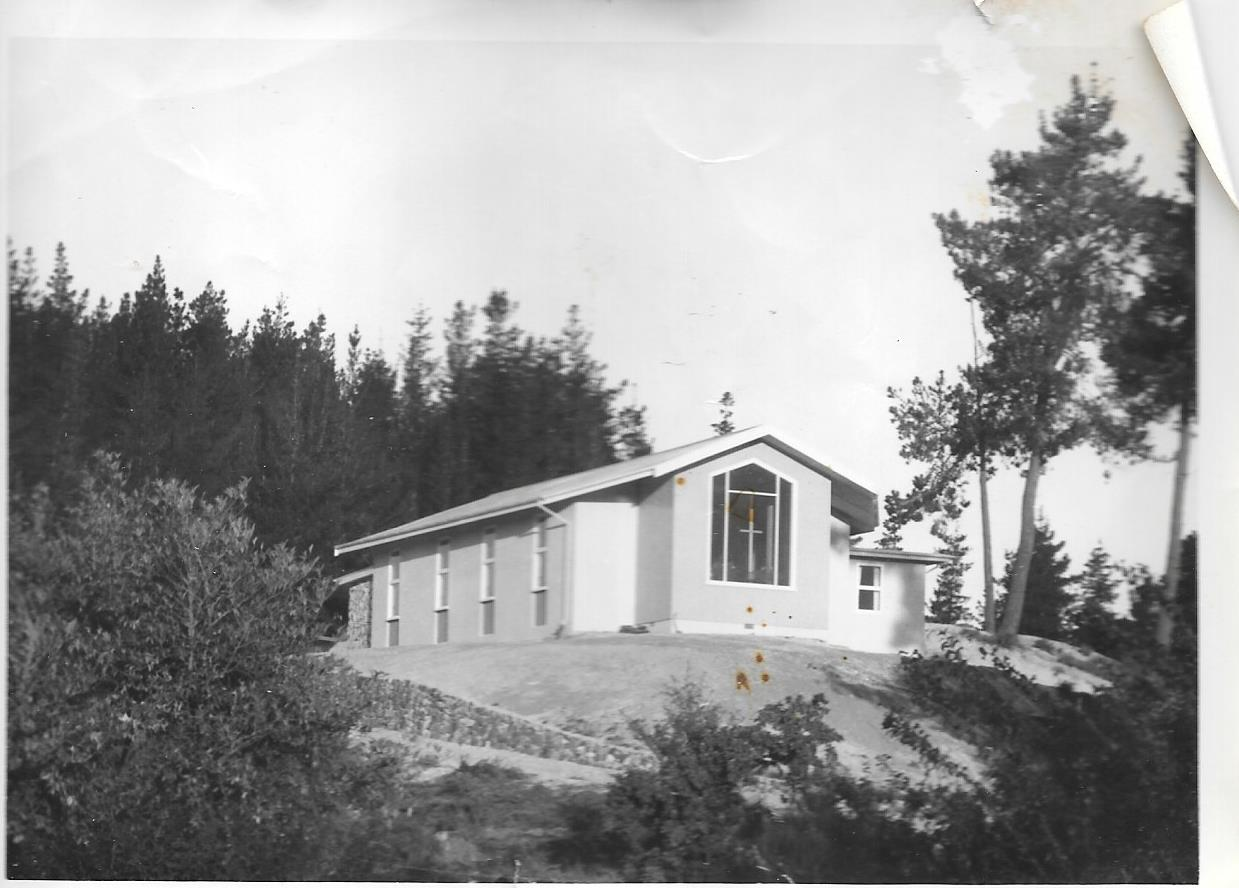 Centre (then a church) in 1959