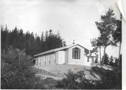 Centre (then a church) in 1959