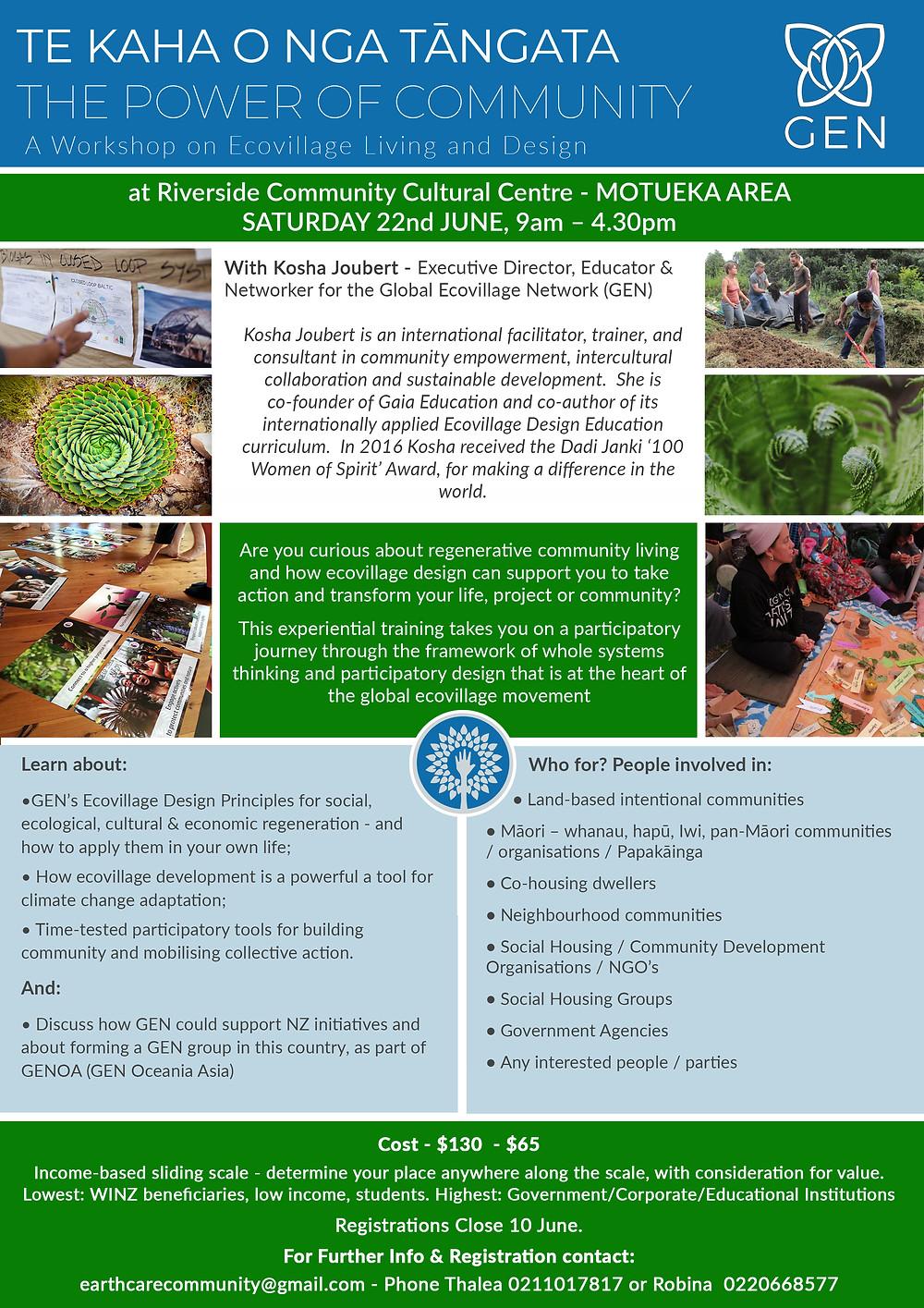 Eco Village Workshop