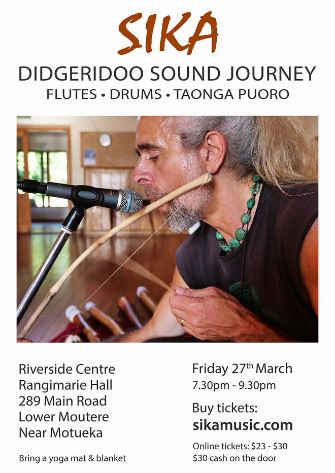 'Drift Into Mystery' Sound Journey With Sika