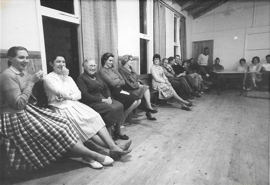 Social Gathering at the Centre, 1964