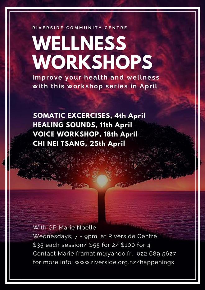 Wellness Workshops in April