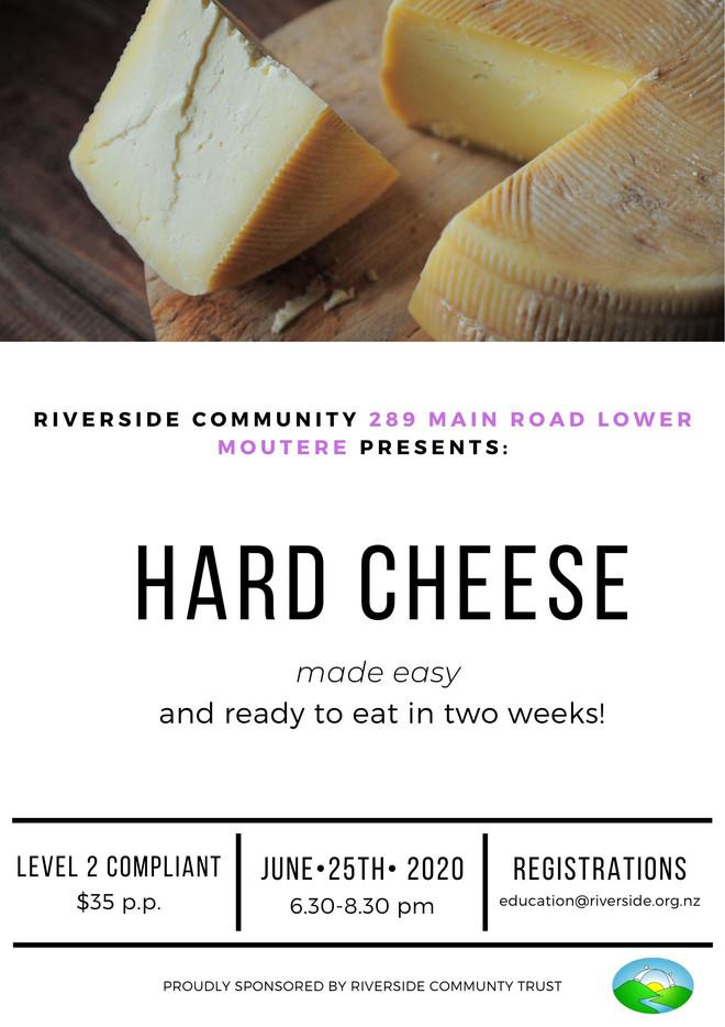 Ripe! Hard Cheese in 2 weeks