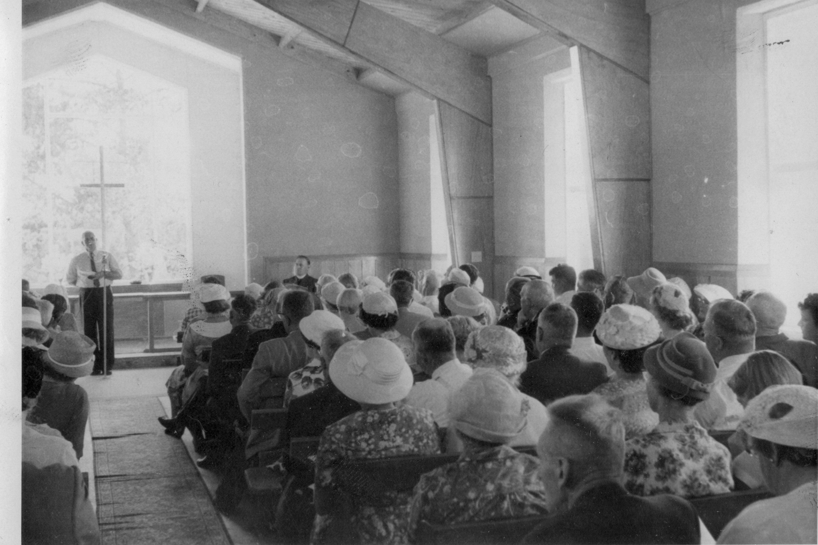 Church opening Feb 1961