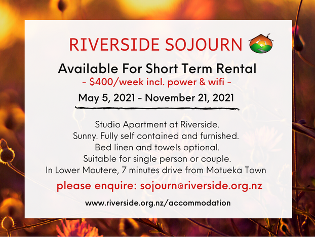 Short Term Rental: Riverside Sojourn