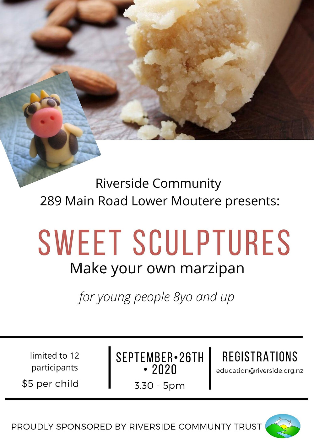 Marzipan Workshop at Riverside