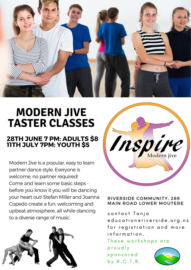 Modern Jive Taster Classes - Adults & Youth