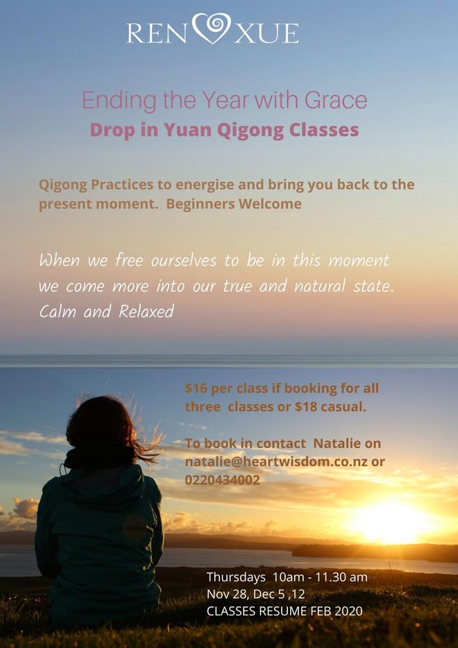 Drop-In Yuan Qigong Classes