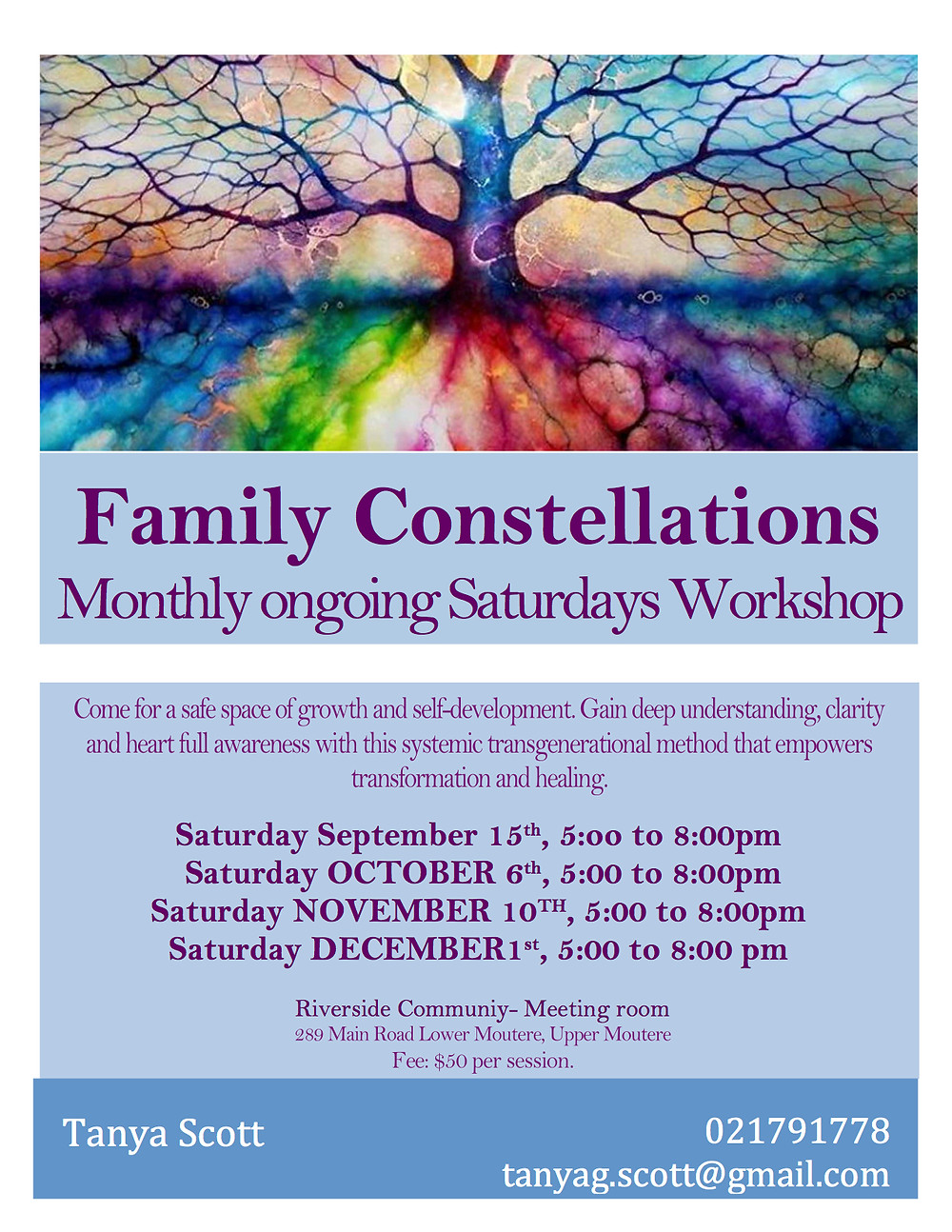 Family Constellations Group Poster