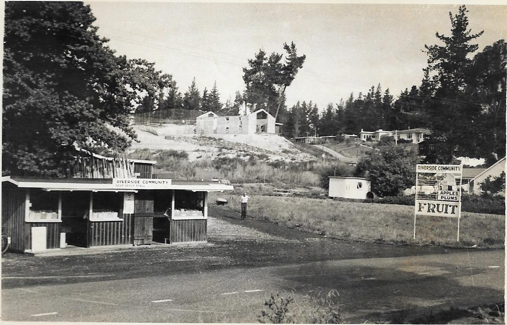 Riverside Community Entrance, 1959