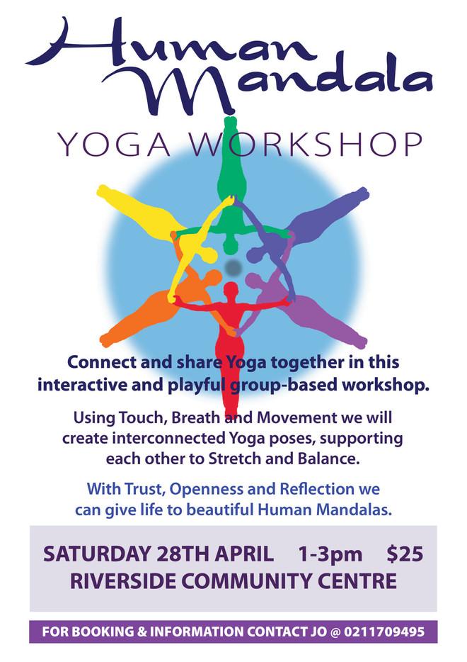 Human Mandala Yoga Workshop