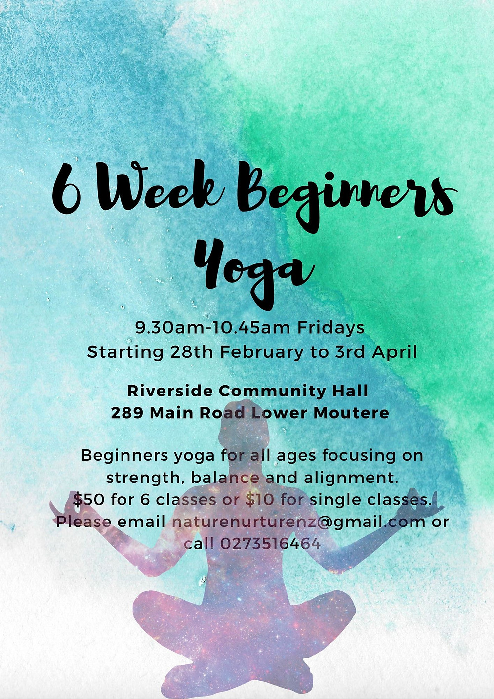 Beginners Yoga at Riverside