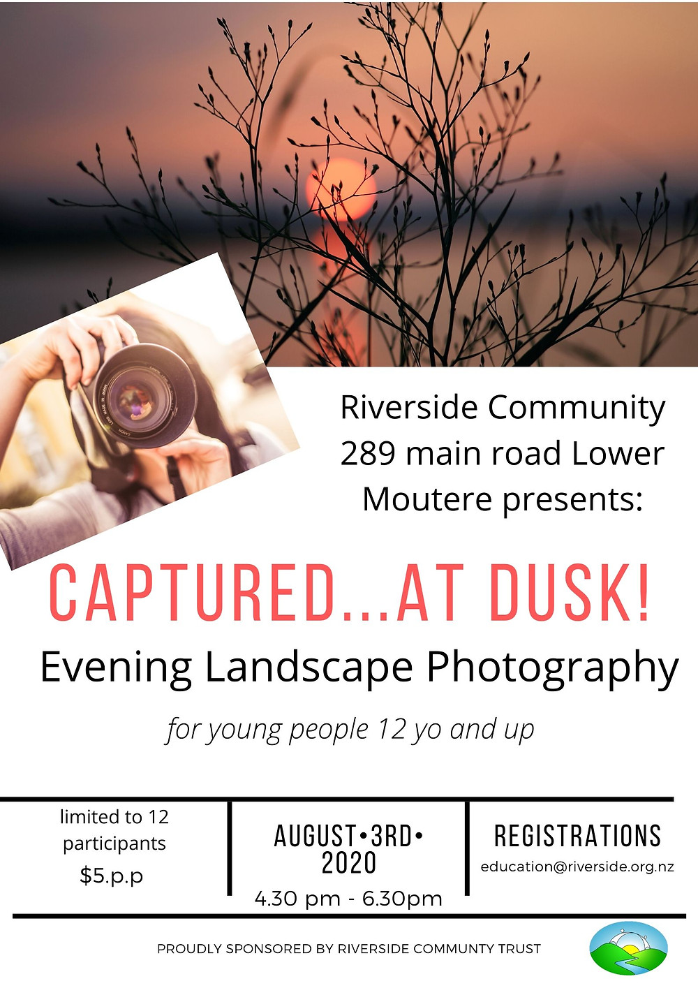 Photography Workshop at Riverside