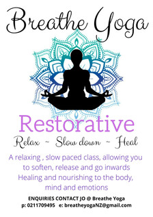 Restorative Yoga Course