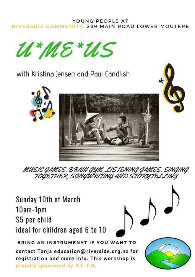 U*Me*Us - Music & Storytelling Playshop