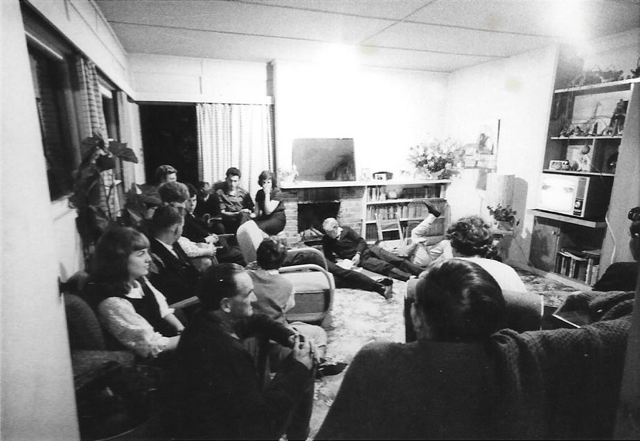 Community Members Meeting, 1960s