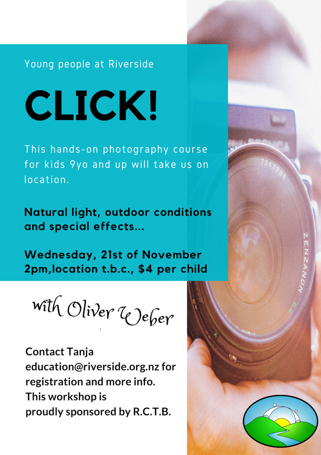 Photography For Kids (9 years+)