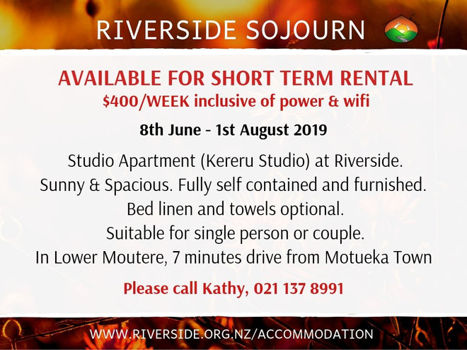 Kereru Studio Rental