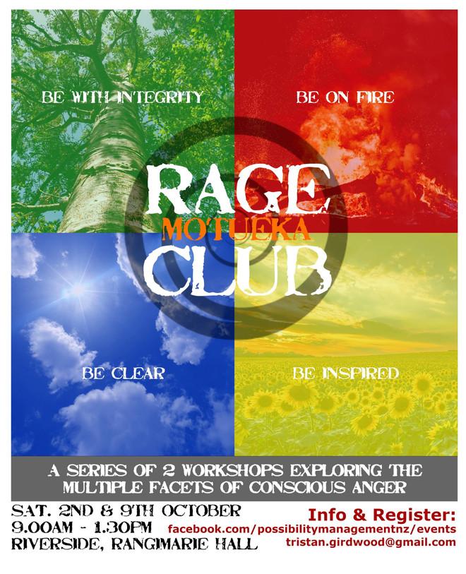 Rage Club - 2 Workshops