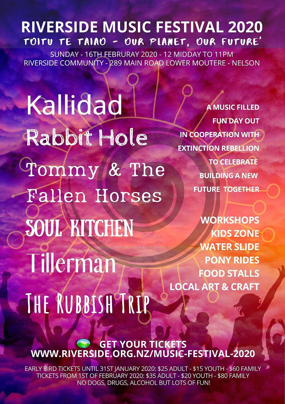 Music Festival 2020 at Riverside