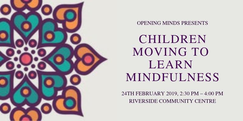 Mindfulness for kids at Riverside