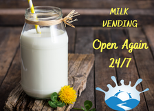 Milk Vending during Level 2