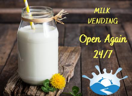 Milk Vending during Level 2