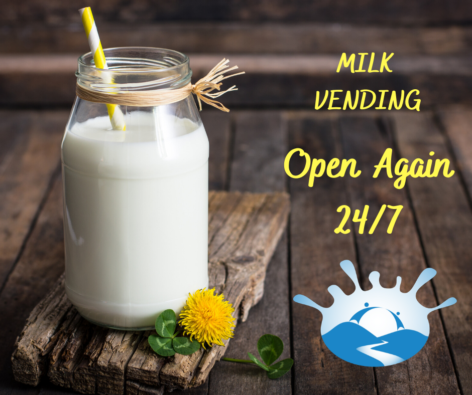 Milk Vending during Covid-19 Level 2