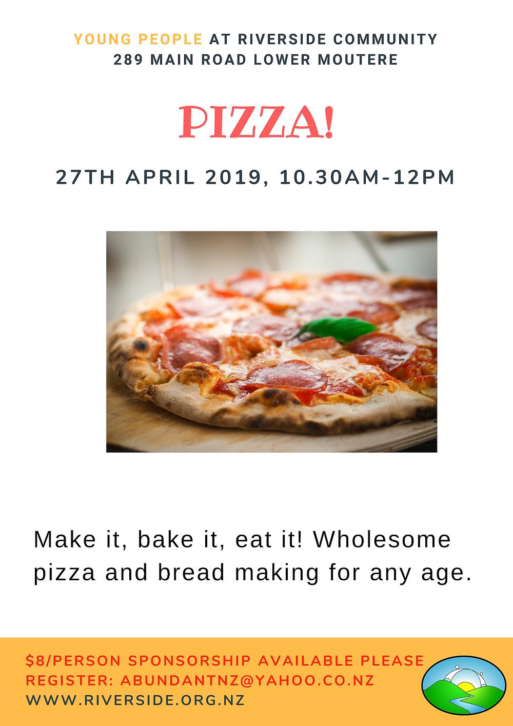 Pizza Workshop for Kids