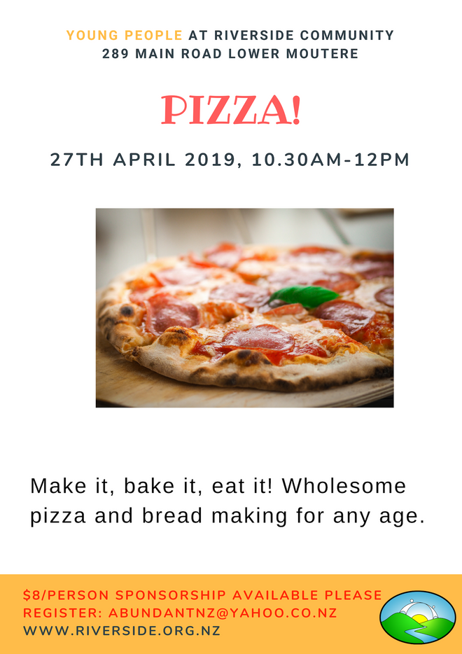 Pizza & Bread - Baking Workshop 4 Kids